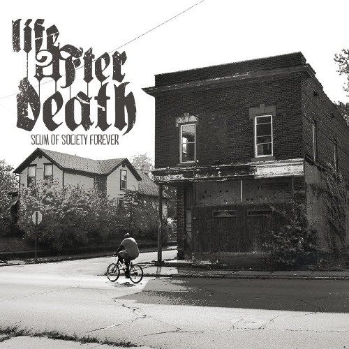 "LIFE AFTER DEATH (USA) ""Scum of society forever"" CD"