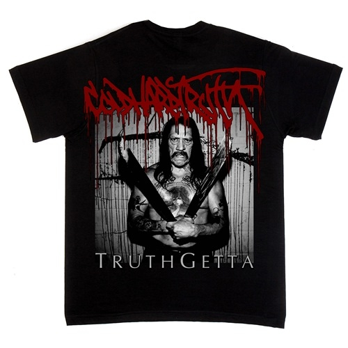 "COLD HARD TRUTH (UK) ""Truthgetta - Machete"" Shirt Small *Preorder*"